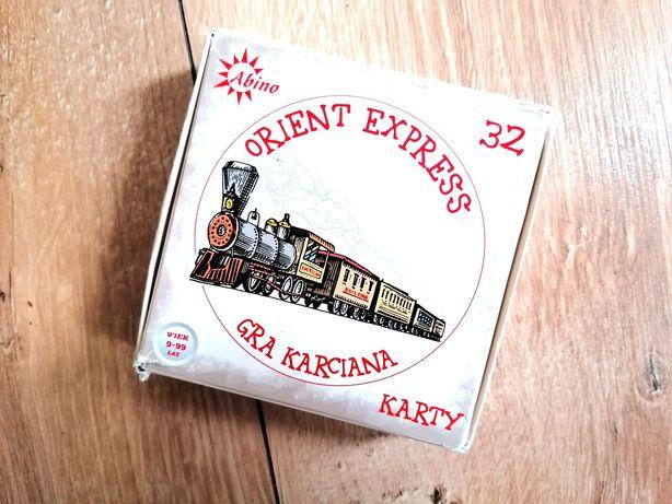 Orient Express gra karciana towarzyska imprezowa logiczna