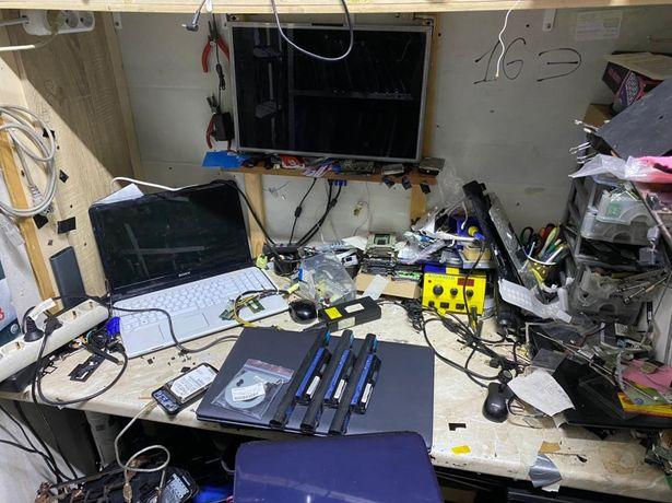 Ремонт ноутбуков компьютеров блоков питания мониторов видеокарт