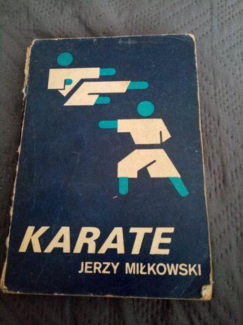 Karate- książka Jerzy Miłkowski