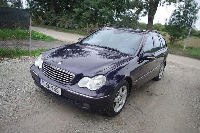 Mercedes C200 CDI * 2.2CDI * 2003/2004r * Avantgarde * Zadbany *