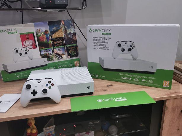 Xbox One S Digital Edition 1TB - stan idealny, na gwarancji
