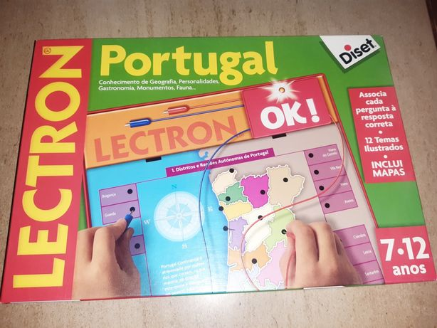 Jogo didático Conhecer Portugal
