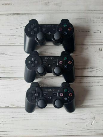 Джойстик оригинальный для PS3 Dualshok,Геймпад Черный