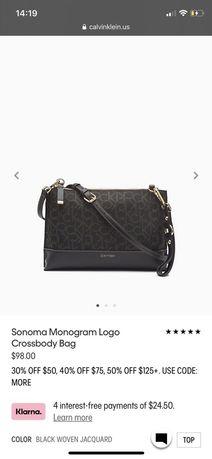 Сумка сумочка-кроссбоди Calvin Klein