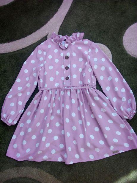 Нарядное платье для девочки.Состояние нового