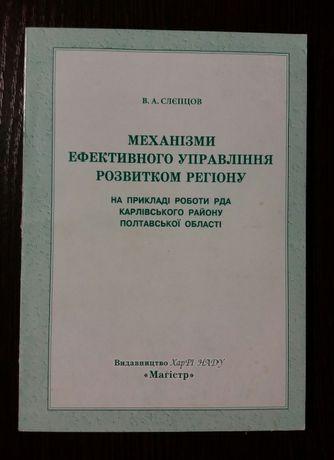 Механизм эффективного управления развития региона 2005г.