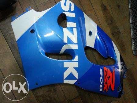 Suzuki gsxr 600 srad peças usadas