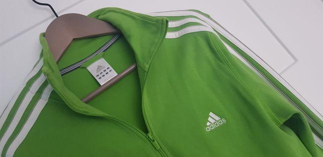 Adidas zielona bluza 40/42