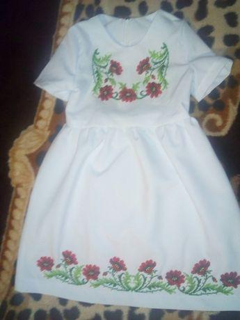 Дитяче плаття.Вишиванка