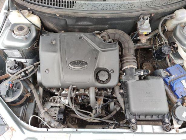 Двигатель ВАЗ 2111 1.6 8v Блок Стартер Генератор КПП ЭБУ Росходомер