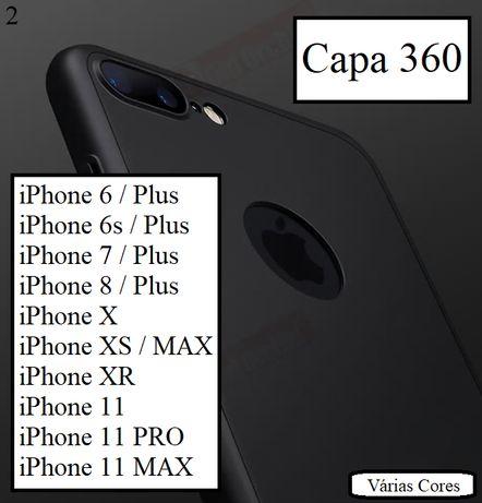 Capa 360 iPhone ( TODOS OS MODELOS )