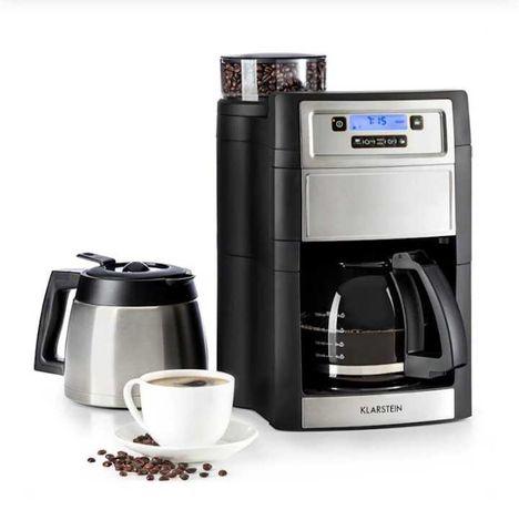 Nowy!!! Ekspres Aromatica II Duo ekspres do kawy z młynkiem 1,25 l