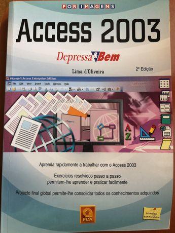 "Livro ""ACCESS 2003"" - Portes incluídos"