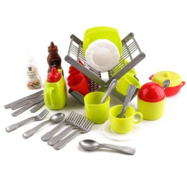 Большой игровой набор посуды Teapot Party 40 предметов в наборе