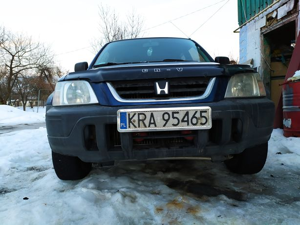 Honda cr-v легендарна для розмитнення