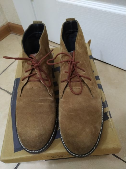 Замшевые ботинки Gioseppo desert boots Clark's geox ecco Киев - изображение 1