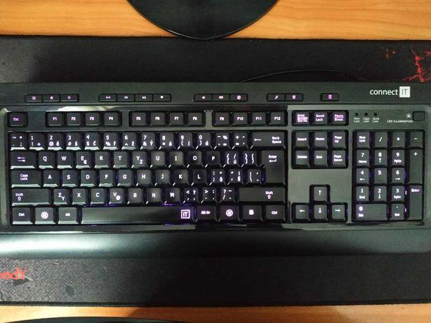 Ігрова клавіатура conect IT з підсвіткою