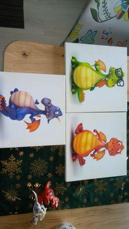 Obrazki dla dzieci egersta Ikea smoki