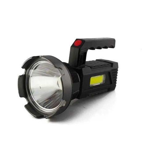 Переносной фонарь, прожектор Police T100 Led+COB Micro USB