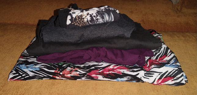 Bluzki, spodnie i spódnice.
