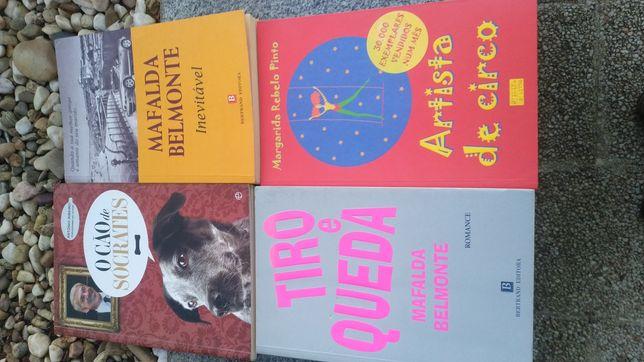 Pack 9 livros Romance Mafalda Belmonte Luís Sepúlveda