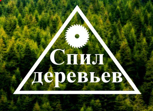 Спил Деревьев по Луганску  и области. Группа быстрого реагирования