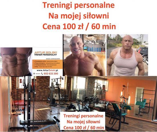 Trener personalny z własną siłownią ostanie wolne miejsca.