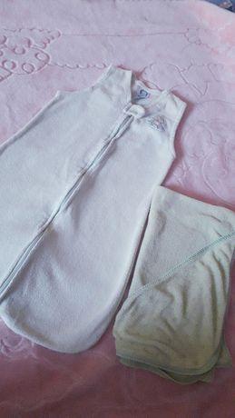 śpiworek do spania + ręcznik
