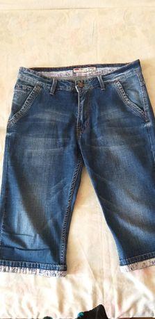 Бриджи джинсовые размер 34 для мальчика - подростка