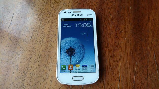 Смартфон телефон GPS навигатор Samsung GT-S7562 Galaxy S DUOS