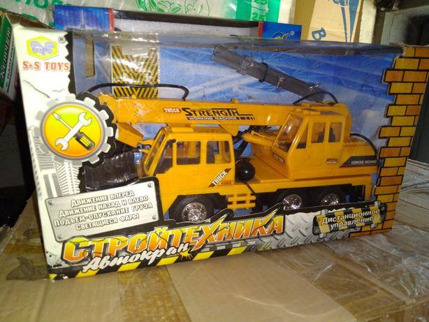 Экскаватор на радиоуправлении, машина кран, трактор на р/у
