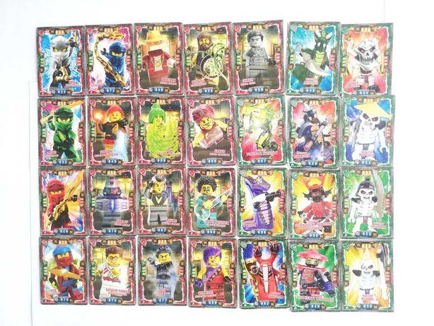 28 kart Lego Ninjago seria 4 KARTY DZIEDZICTWO 2019r.