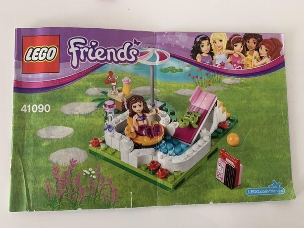 Lego friends 41090 ogrodowy basen Oliwii