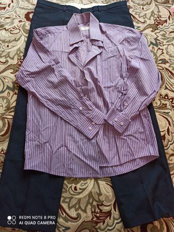 Мужская рубашка и брюки