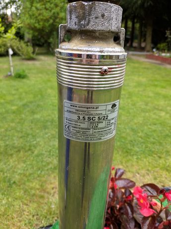 Pompa głębinowa omnigena 3.5 SC 5/22 1.8kw