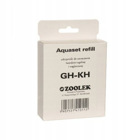 ZOOLEK Aquatest GH-KH REFILL Uzupełnienie testu