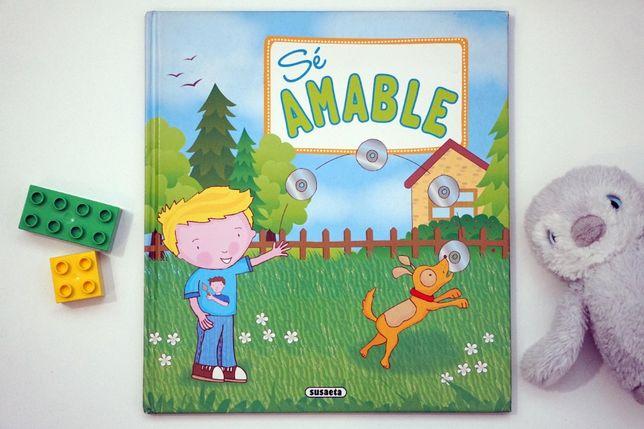 """""""Sé amable"""" dziecięca książka po hiszpańsku"""