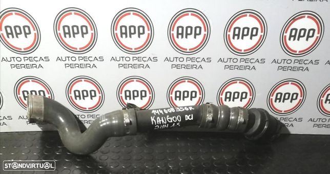 Tubo de intercooler Renault Kangoo DCI de 2014, referência 144608356R.