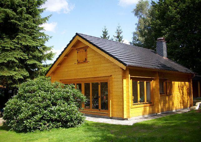 Domy domki drewniane z bala mieszkalne letniskowe INDYWIDUALNE PROJEKT