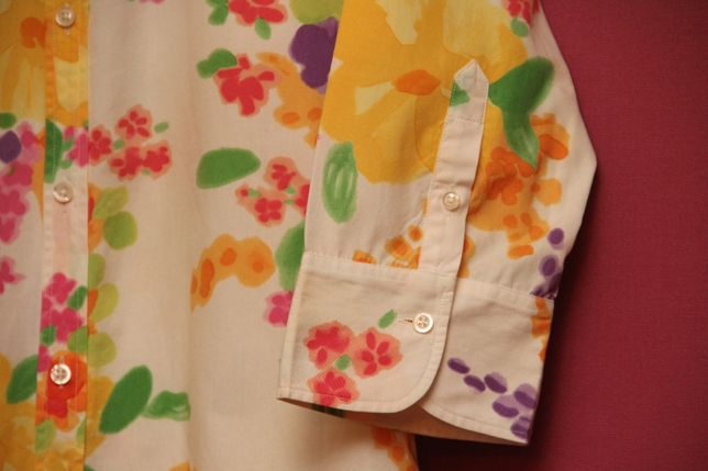 Polo Ralph Lauren рр 10 M-L блуза из хлопка Италии