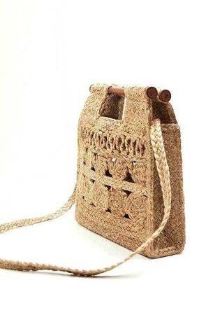 MANGO оригинал Новая стильная плетеная женская сумка МАНГО