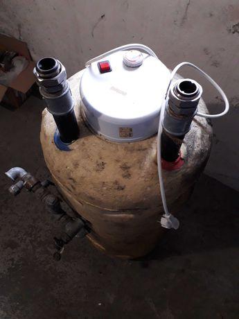 BOJLER 100L 2KW z grzalką na prąd