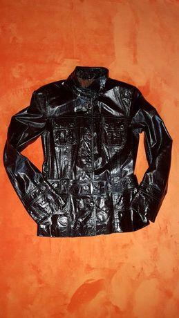 Шкіряна куртка S коженая курточка