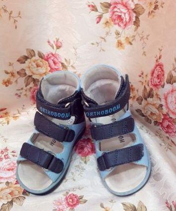 Ортопедические сандали, размер 19