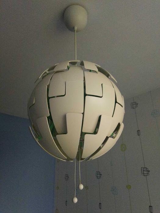 Lampa IKEA biała Wrocław - image 1