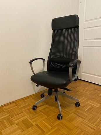 Krzesło obrotowe Markus IKEA / skóra