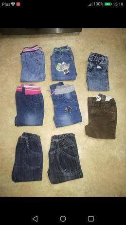 Spodnie dziewczęce /92 cm
