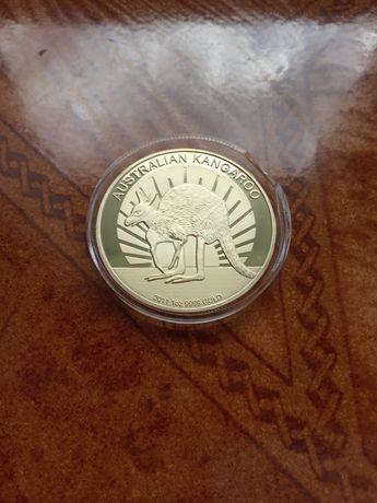 Moneta Kangur Elizabeth II kangaroo medal kolekcjonerski