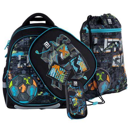 Школьный набор рюкзак + пенал + сумка Kite Let's go K21-700M(2p)-2