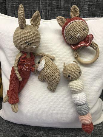 Conjunto Coelhinha crochet/amigurumi